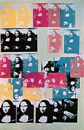 Warhol's Monda Lisa Series